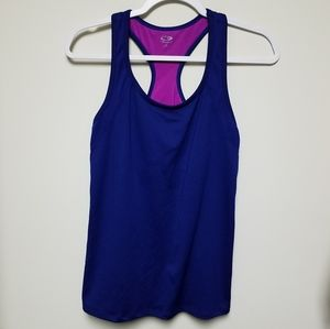 Champion workout tank top Large built in bra